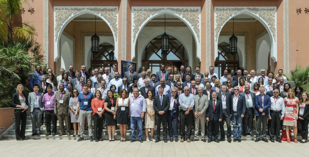 Konferenz-Auftritt in Marrakesch